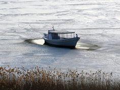 Prespa Lake iced