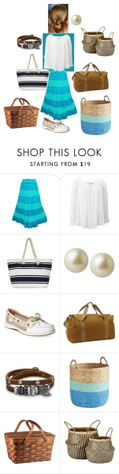 """""""Everyday Reka (D4)"""" by sweetieme-1 ❤ liked on Polyvore featuring Michael Kors, Carolee, Sperry, Filson, BillyTheTree, Pier 1 Imports, Picnic Time and Murmur"""