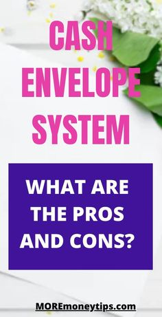 What are the pros and cons of the cash envelope system (CES)? Here are also the top tips for you to make the system a success and skyrocket your finances. Weekly Budget, Budget Planner, Cash Envelope System, Cash Envelopes, How To Become Rich, Managing Your Money, Investing Money, Budgeting Money, Financial Tips