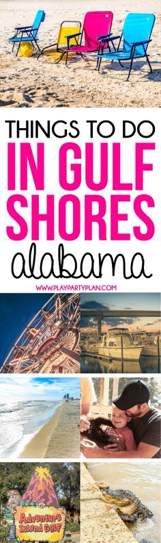 Planning a Gulf Shores Alabama Vacation? This guide to things to do in Gulf Shores Alabama will make planning your Gulf Shores Vacation easy! Everything you need to know from places to eat in Gulf Shores to where to stay!