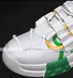 Men's Trainers Athletic Shoes Casual Daily Walking Shoes Mesh Black / White White / Green Black Spring & Summer Fall & Winter 2021 - US $36.74 Casual Sneakers, Casual Shoes, Autumn Summer, Fall Winter, Mens Shoes Online, Daily Walk, Mens Trainers, Primavera Estate, Walking Shoes