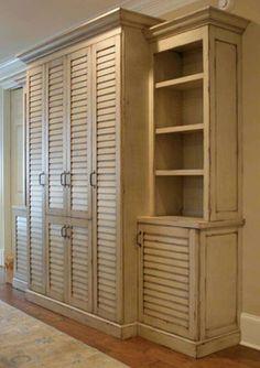 DIY Shutter Door Wardrobe: India pied-à-terre Idea & Restoration ...