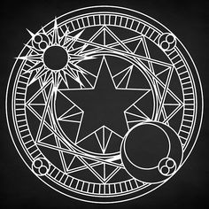 Magic Circle Digital Art - Sakuras Magic Circle by Zapista OU Spell Circle, Circle Art, Magic Circle, Circle Symbol, Occult Tattoo, Occult Art, Alchemy Tattoo, Tattoo Symbols, Wiccan Symbols