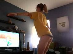 haha i remember her wii fit girl, really made me envious