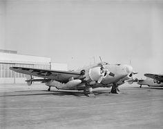 U.S. Navy Lockheed PV-1 Ventura on May 3, 1944. | Photo by Rudy Arnold