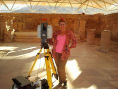 Laser Scanning at Petra's Byzantine Mosaic Church