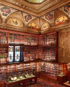 I want to go here next time I'm in NYC The Morgan Library & Museum, New York, founded by Pierpont Morgan Upper West Side, New York Travel, Travel Usa, Travel Tips, Zermatt, Wonderful Places, Beautiful Places, A New York Minute, Voyage New York