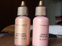 MAC lustre drops for glowing skin