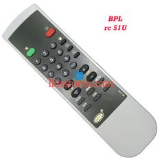Buy remote suitable for BPL Tv Model: RC 51U at lowest price at LKNstores.com. Online's Prestigious buyers store.