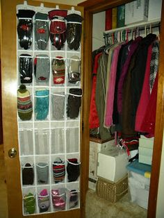 Beautiful Daily Chrysalis: Organize Your Home: Winter Hat And Glove Storage