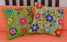 Boho t https://www.etsy.com/listing/199619536/hand-embroidered-pillow-cover-peru