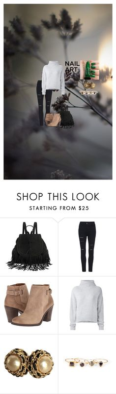 """Untitled #344"" by michelle-d-1 ❤ liked on Polyvore featuring beauty, Lucky Brand, Le Kasha, Chanel and Sole Society"