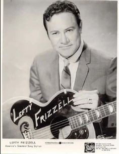 """Lefty Frizzell is not only was one of the early pioneers of country music but is also a great influence on a lot of country musicians now. """"I Never Go Around Mirrors"""" was recorded by Lefty Frizzell and written by Whitey Shafer and Lefty Frizzell Old Country Music, Country Western Singers, Country Musicians, Country Music Videos, Country Music Artists, Country Music Stars, Outlaw Country, I Love Music, Good Music"""