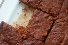 Flourless Pumpkin Brownies - Delighted Momma