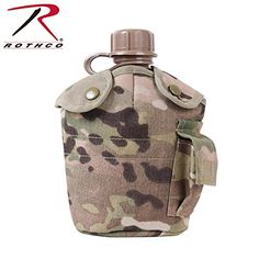 Multi Cam GI Style 1 Quart MOLLE Canteen Cover ** To view further for this item, visit the image link.