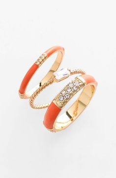 Trend to Try: Stackable Rings