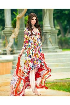 Adorn your traditional avatar wearing this multi coloured unstitched salwar suit made of cotton. #womensethnicwear #ethnicwearforwomen #womensdressmaterial #womenssalwarsuits #womensfashion https://trendybharat.com/women/ethnics-wear/women-ethnic-wear-pakistani-lawn-suits/multicoloured-cotton-cambric-salwar-suit-set-sf001