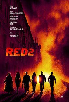 """Teaser Poster de """"Red 2″ en alta calidad"""