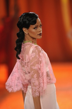 Rihanna at the VS Fashion Show 2012. LOVED her performance.