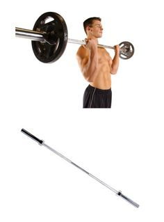 Barbells And Attachments 137864 Cap Barbell 2 Inch Olympic Plates Workout 500 Lb Weight Bar