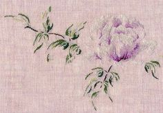 Simple Embroidery, Ribbon Embroidery, Cross Stitch Embroidery, Embroidery Patterns, Cross Stitch Designs, Cross Stitch Patterns, Saint Aubin, Drawn Thread, Cross Stitch Flowers