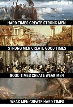 Good times and hard times — Steemit Wise Quotes, Great Quotes, Words Quotes, Wise Words, Inspirational Quotes, Sayings, Wednesday Memes, Weak Men, Warrior Quotes