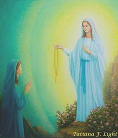 painter  Tatiana F. Light «Immaculada Councepciou»