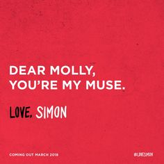 Love, Simon Twitter campaign Great Love Stories, Love Story, Simon Spier, Love Simon, Nick Robinson, Cartoon Movies, Coming Of Age, Strawberries, Falling In Love