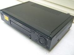 VHS HI-FI Stereo; MTS Stereo TV Reception 4-Head Dual Azimuth Recording/Playback Sony's LS Feature Package VCR Plus+ Timer #Programming Multi-Lingual On-Screen H...
