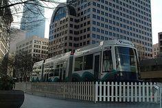 Sound Transit train, 2003