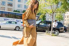 New York Fashion Week Street Style Spring 2016 | POPSUGAR Fashion