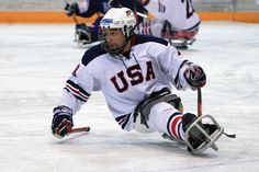 An infusion of new talent, such as Rico Roman, above, and Josh Sweeney, along with the veteran leadership of Jimmy Connelly, Sled Hockey, Usa Hockey, Spinal Cord Stimulator, Adaptive Sports, Spinal Cord Injury, Olympians, Nhl, Football Helmets, Spoon