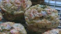 "Healthy Mini Vegetable Quiches from Food.com:   								These low-fat, low-cal, high protein and high fiber vegetable quiches are the perfect way to start your day.  Go to my Youtube or Facebook page: ""Nikki Dinki Cooking"" for a ""How To"" video on making these!"