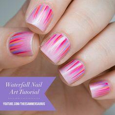 Waterval Nail Art