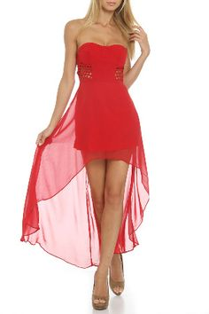 Cecico Dusk and Summer Dress in Red $88.00