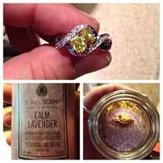 Calm Lavender, with maybe a $5,000 ring inside....I would need to have this calm lavender burning!!!!!!