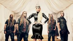 In This Moment toured with us on their Black Widow Tour this past fall.... we love u Maria Brink!