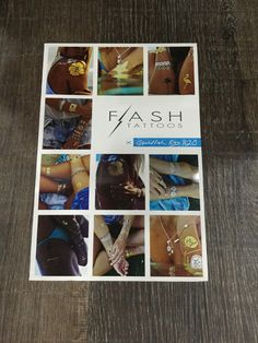Flash Tattoos by Goldfish Kiss for Waves for Water