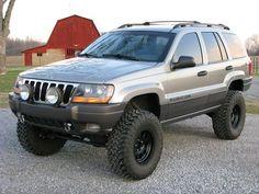 "2001 Jeep Grand Cherokee Lifted 8"""