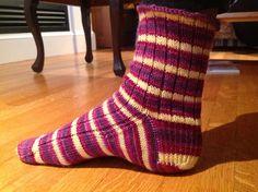 Ravelry: robinmc's Julie's vanilla socks