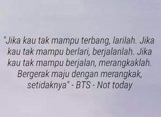 Lirik BTS - Not Today