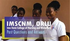Imo State School of Nursing and Midwifery, Orlu Past questions and Answer for Entrance Examination - Click to start download. State School, State College, Past Questions, This Or That Questions, O Level Results, Examination Results, College Nursing, O Levels