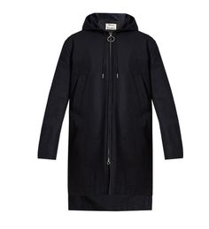 Try a minimalist hooded coat this winter, like this one from Acne Studios. Fashion Advice, Fashion News, Mens Fashion, Vest Jacket, Hooded Jacket, Mens Raincoat, Acne Studios, Hoods, Menswear