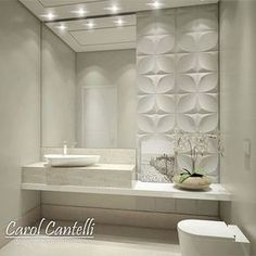 Guest bathroom You are in the right place about Bathroom accessories Here we offer you the most beautiful pictures about the Bathroom colors you are l Bathroom Interior, Modern Bathroom, Small Bathroom, Bathroom Ideas, Bathroom Things, Interior Livingroom, Bathroom Colors, Bad Inspiration, Bathroom Inspiration