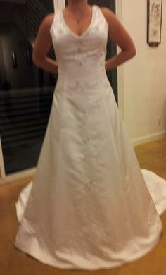 Eden Bridals, find it on PreOwnedWeddingDresses.com $125 has never been worn to an event, has all tags
