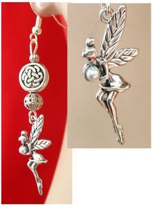 Silver #Celtic Knot Fairy Charm Earrings