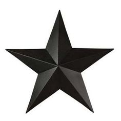 "Black Barn Star 18"""