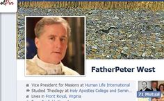 FatherPeter West, VP of HLI, friend or subscribe to him on Facebook