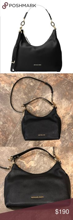 Isabella Black Michael Kors Bag - Never worn! This is a brand new never worn with tags black Isabella Michael Kors bag. This comes with the white dust bag (pictured). Michael Kors Bags Shoulder Bags