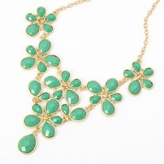 Fashion Golden Chain Water Drop Green Resin Beads Bubble Crotch Pendant Statement Bib Necklace, http://www.amazon.com/dp/B00C4VC1QO/ref=cm_sw_r_pi_awdm_FBNltb0KWMP2R